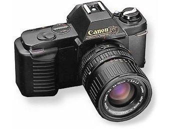 Analog Canon T50, systemkamera i gott skick - Hägersten - Analog Canon T50, systemkamera i gott skick - Hägersten
