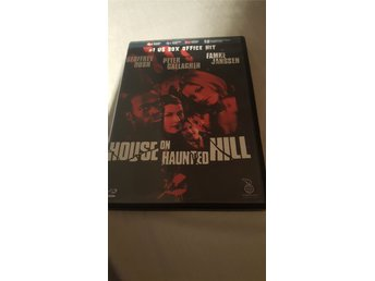 DVD skräck: HOUSE IN THE HAUNTED HILL
