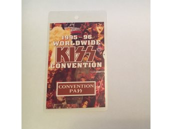 KISS 1995-1996 Worldwide Convention Pass