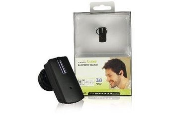 Mr. Handsfree Headset In-ear Bluetooth Inbyggd Mikrofon Svart