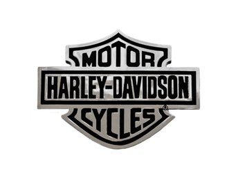 H-D Bar And Shield Domed Auto Emblem.