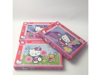 Hello Kitty, Pussel, 3 st