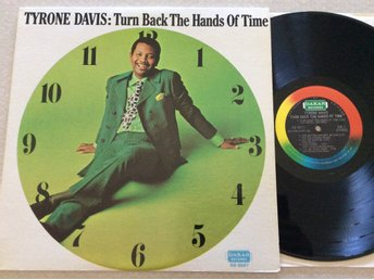 Lp Tyrone Davis-Turn back the hands of time rare us org på Dakar