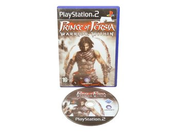 Prince of Persia: Warrior Within (EUR / PS2 Ingen manual)