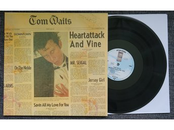 "tom waits ""heartattack & vine"" LP (mint)"