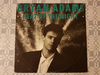 Bryan Adams - Heat Of The Night (Extended Remix) 12""
