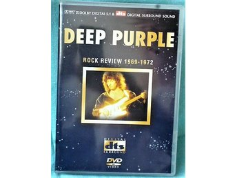 DVD  Hårdrock - Deep Purple - Rock review 1969 - 1972