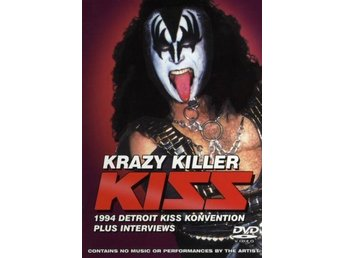 Kiss -Krazy Killer dvd STILL SEALED The Detroid raid 1994