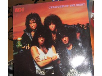 "KIss LP ""CREATURES OF THE NIGHT"" VINNIE VINCENT COVER"