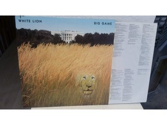 White Lion - Big game (I mycket fint skick!)