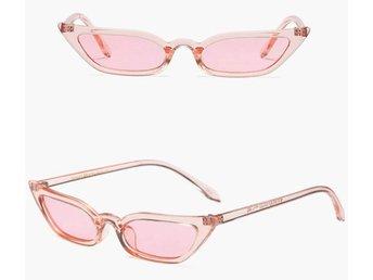 REA! Fashionista Retro Cat Eye Solglasögon *Pink*