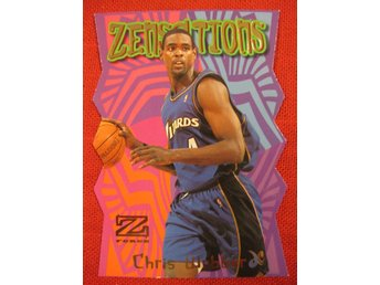 CHRIS WEBBER - ZENSATIONS - 1997-98 Z-FORCE - UTAH JAZZ - BASKET