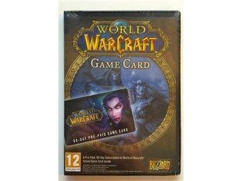 WOW speltid, World of Warcraft Game Card 60-dagars Time Card - Köping - WOW speltid, World of Warcraft Game Card 60-dagars Time Card - Köping