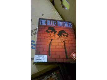 Blues Brothers commodore 64 c64 komplett spel