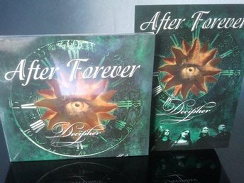 AFTER FOREVER - DECIPHER *Digipack + Vykort* -Ny-