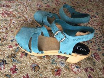 Sweeks sandaler tofflor cloggs blå storlek 39 - Bromma - Sweeks sandaler tofflor cloggs blå storlek 39 - Bromma