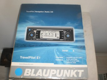 Blaupunkt travelPilot E1 Navigation/radio/CD.