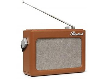 Ricatech Retro FM/AM-Radio Läderlook PR78 Brun