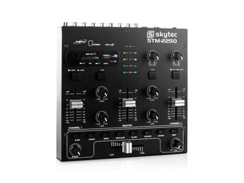 Skyec STM-2250 4-kanal-mixer USB SD MP3 FX