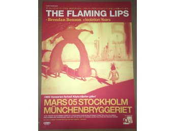 Poster The Flaming Lips Münchenbryggeriet i toppskick