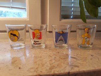 Homer Simpson shot glas 6 cl