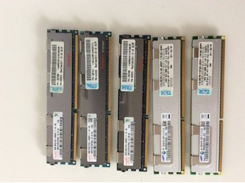 56 GB DDR3 ECC Server Ram Minne  ( 2ST 16 GB + 3ST 8 GB )