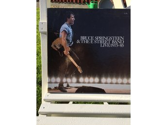 Bruce Springsteen & the E-street band /live 1975-1980 5 LP julklapp