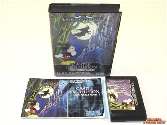 Castle Of Illusion Starring Mickey Mouse (SMD)