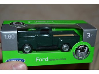 Ford Pickup Grön Äldre Modell 1:60 Welly Series NEX Ny