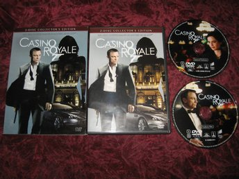 CASINO ROYALE (DANIEL CRAIG,EVA GREEN,MADS MIKKELSEN) 2-DISC COLLECTOR'S EDITION