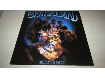 GRATEFUL DEAD - BUILT TO LAST - LP - 1989