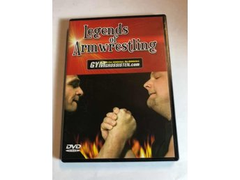 Legends of armwrestling - Armbrytning - DVD