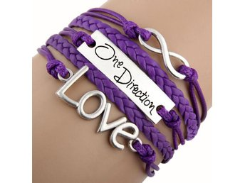 ONE DIRECTION, Armband, Lila
