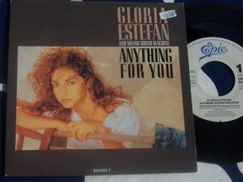 "GLORIA ESTEFAN & MIAMI SOUND MACHINE - ANYTHING FOR 7"" 1988"