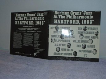 NORMAN GRANZ JAZZ AT THE PHILHARMONIC HARTFORD 1953