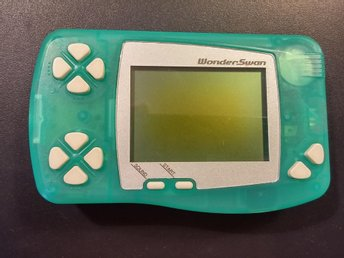 WonderSwan Skeleton Green - Fullt fungerande!