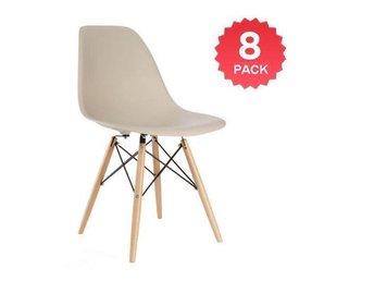 8 x Style Dining Cream Side Chair!Stol!Fåtölj!Möbler - Kista - 8 x Style Dining Cream Side Chair!Stol!Fåtölj!Möbler - Kista