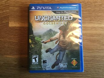 Playstation PS VIta Uncharted Golden Abyss