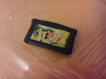 Earthworm Jim Earth Worm Jim Gameboy GBA