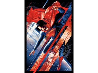 MAN OF STEEL - by Martin Ansin - MONDO POSTER *Signed & Handnumbered *SUPERMAN*