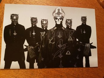 GHOST autografer Papa III +ghouls.