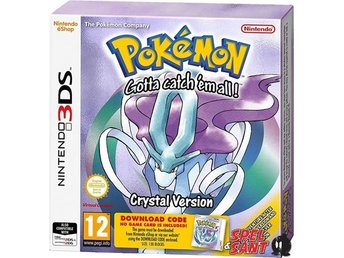 Pokemon Crystal Version (Endast Download Kod, I Kartongen)
