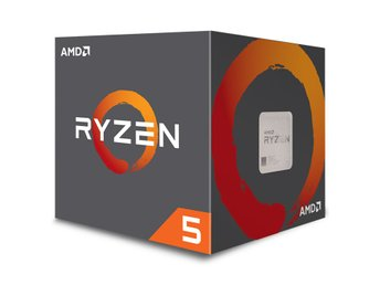 AMD Ryzen 5 2600 Processor 3,9GHz Socket AM4 inkl. kylare