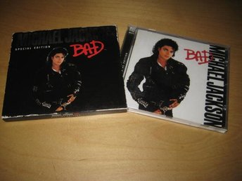 MICHAEL JACKSON - BAD. SPECIAL EDITION. SLIPCASE.