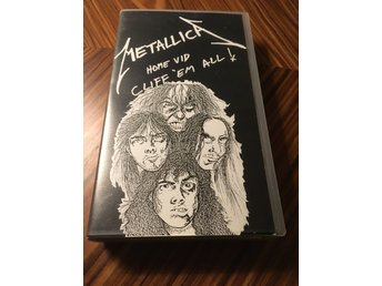 Metallica Cliff `em all! VHS