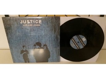 JUSTICE Live & learn SUPERTOUCH,BOLD,UNDERDOG,BAD BRAINS,QUICKSAND,INSIDE OUT