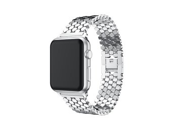 Band Apple-Watch SVART 42mm