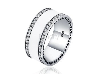 Ring s For Women Luxury Jewelry Gift XCH7624 size 7 white