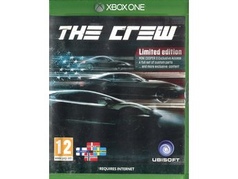 "Xbox One-spel ""The Crew"""