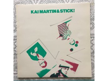 KAI MARTIN & STICK - BIOMUSIK 1980( GREEN TRANSPARANT VINYL,STICKER ) VERY RARE